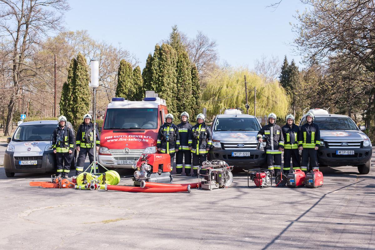 Tűzvédelem eszközpark